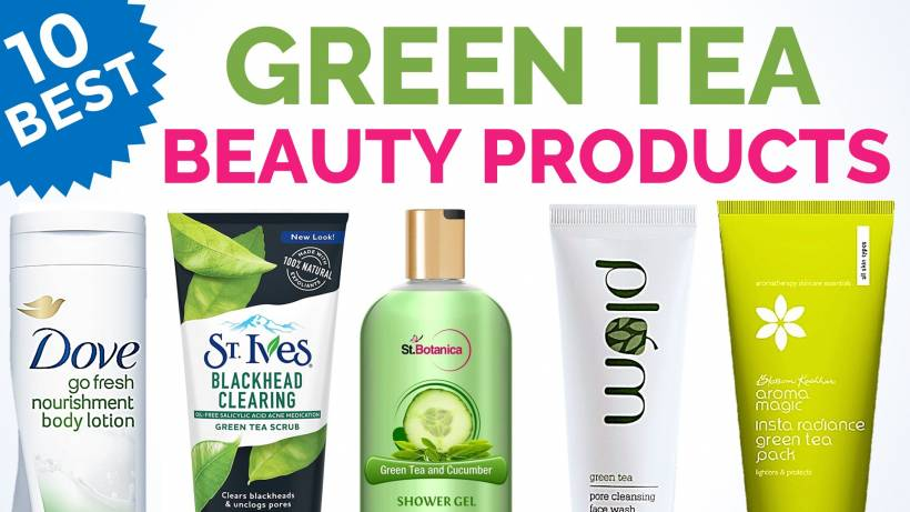 10 Best Green Tea Infused Beauty Products In India