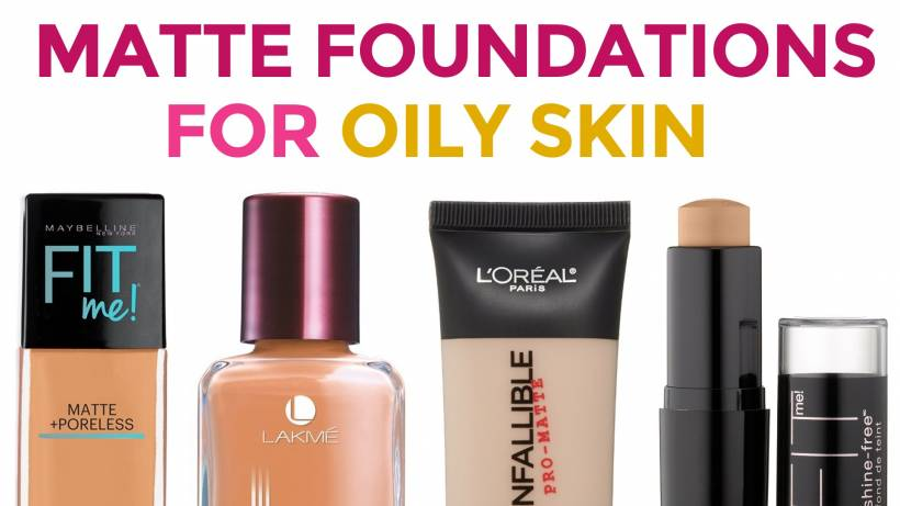 6 Best Matte Foundations For Oily Skin In India
