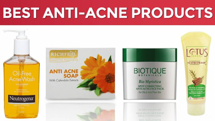 8 Best Anti Acne Products In India