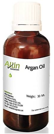 Allin Exporters Certified Cold Pressed Moroccan Natural And Organic Argan Oil For Skin And Hair 30ml