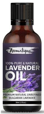 Aromatique 100 Pure Therapeutic Grade Lavender Essential Oil 30ml