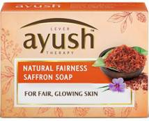 Ayush Natural Fairness Saffron Soap 100gm