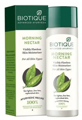 Biotique Morning Nectar Flawless Skin Lotion For All Skin Types 190ml