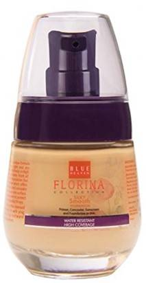 Blue Heaven Florina Silky Smooth Foundation Saffron Glow 30ml