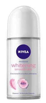 Deodorant Nivea Whitening Smooth Skin Roll On 50ml