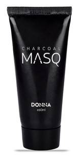 Donna Activated Charcoal Purifying Black Peel Off Face Mask 60ml