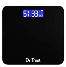 Dr Trust USA Electronic Zen Rechargeable Digital Personal Weighing Scale