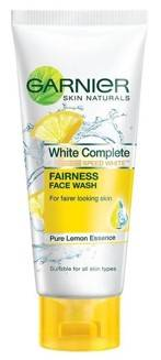 Garnier Skin Naturals White Complete Face Wash 100gm