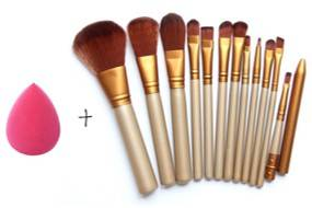 Generic Makeup Brushes Set Of 12