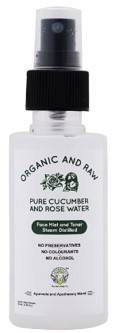 Greenberry Organics Pure Cucumber Rose Water Face Mist And Toner 100ml