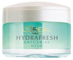 L Oreal Paris Hydrafresh Anti Shine Icy Gel 50gm