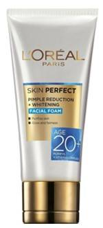 L Oreal Paris Perfect Skin Pimple Reduction Whitening 50gm