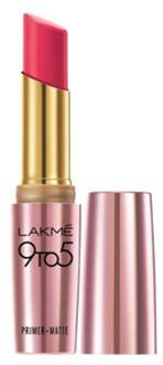 Lakme 9 To 5 Primer With Matte Lip Color MP16 Pink Perft 3 6gm