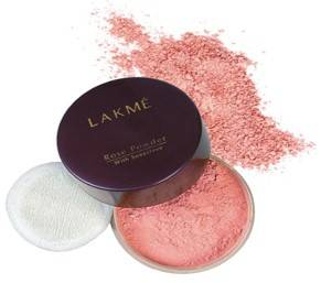Lakme Rose Face Powder Soft Pink 40gm
