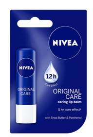 Lip Balm Petroleum Jelly Nivea Lip Balm Original Care 4 8gm