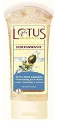 Lotus Herbals Jojobawash Active Milli Capsules Nourishing Face Wash 80gm