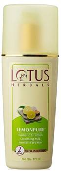 Lotus Herbals Lemonpure Turmeric And Lemon Cleansing Milk 170ml