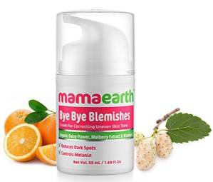 Mamaearth Bye Bye Blemishes For Pigmentation Sun Damage Spots Correction 50ml