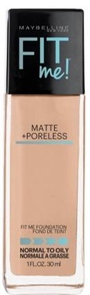 Maybelline New York Fit ME Matte With Poreless Foundation 238 Rich Tan 30ml