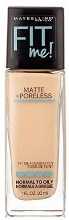 Maybelline New York Fit Me Matte With Poreless Foundation 115 Ivory 30ml