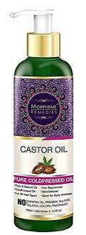 Morpheme Remedies Pure Cold Pressed Castor Oil 120ml