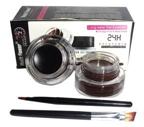 Music Flower Long Lasting Gel Eyeliner Black And Brown