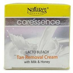 Nature S Essence Caressence Lacto Bleach Tan Removal Cream With Milk Honey 50gm