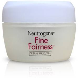 Neutrogena Fine Fairness Cream SPF20 PA 50gm