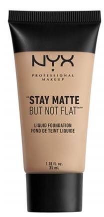 Nyx Professional Makeup Stay Matte But Not Flat Foundation Liquid Medium 35ml