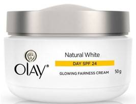 Olay Natural White Glowing Fairness Cream Day SPF 24 50gm