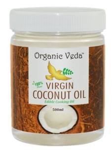 Organic Veda Virgin Coconut Oil 500ml