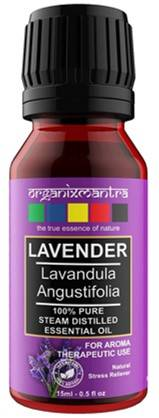 Organix Mantra Lavender Essential Oil Steam Distilled Natural Pure And Organic 15ml