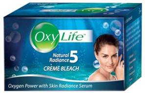 Oxy Life Bleach Oxygen Power With Skin Radiance Serum 27gm