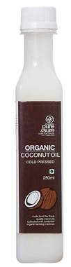 Pure Sure Organic Coconut Oil 250ml