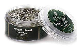 Rustic Art Organic Neem Basil Face Wash Concentrate For Deep Cleansing