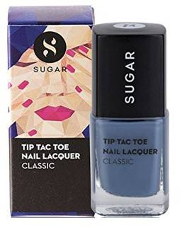 SUGAR Tip Tac Toe Nail Lacquer 015 Seal The Slate Blue Grey