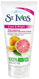 St Ives Even And Bright Pink Lemon And Mandarin Orange Scrub 170gm