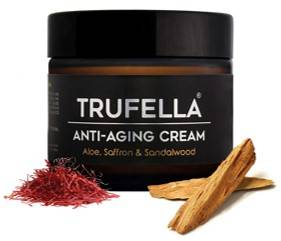 Trufella Natural Hydrating Day Or Night Anti Ageing Face Moisturiser For Firm Age Defying Skin