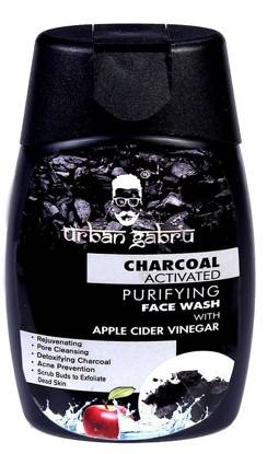 UrbanGabru Charcoal Face Wash With Apple Cider Vinegar For Pimple Acne Control And Clear Glowing Skin