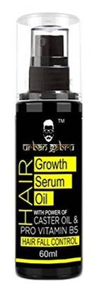UrbanGabru Hair Growth Serum Oil With Castor Oil Hair Fall Control Oil For Men Women
