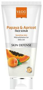 VLCC Papaya Apricot Face Scrub 80gm