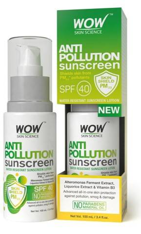WOW Anti Pollution Sunscreen SPF 40