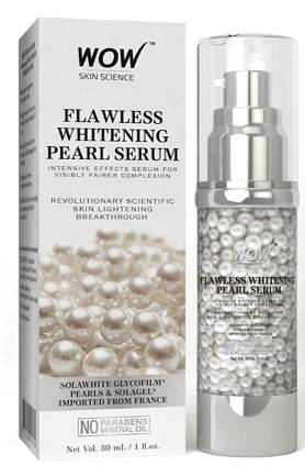 WOW Flawless Whitening Pearl No Parabens Mineral Oil Serum 30ml