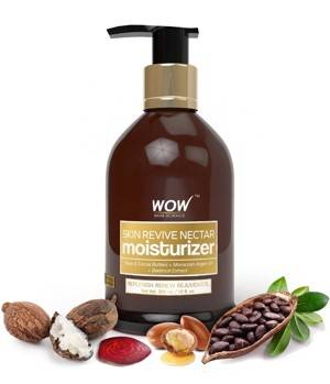 WOW Skin Revive Nectar No Parabens Mineral Oil Moisturiser 300mL