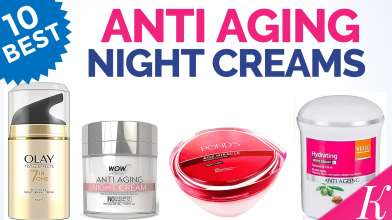 10 Best Anti Aging Night Cream for Winter in India with Price - Cream for Oily & Dry Skin - Prevent Early Skin Ageing