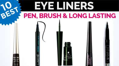 10 Best EyeLiners in India with Price - Liquid, Pen, Brush, Long Lasting, Waterproof & Artistic Eye Liners