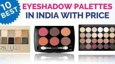 10 Best Eyeshadow palettes in India with Price
