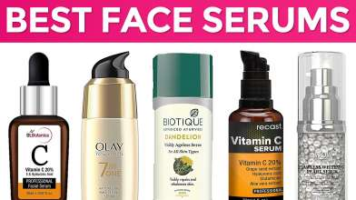 10 Best Face Serums for Glowing Skin in India with Price - For Oily, Dry, Sensitive Skin
