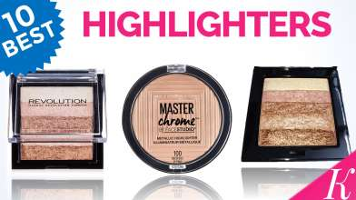 10 Best Highlighters in India with price - For All Skin Types - Affordable, Blinding Highlighters