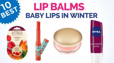 10 Best Lip Balms for Winter in India with Price - Baby Lips in Winter - Lip Care